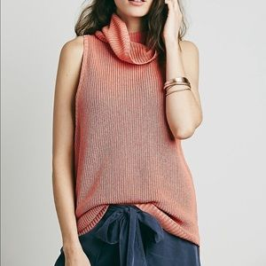 Free People Cowl Neck Tank
